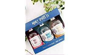 Manly Spirits Australian Dry, Coastal Citrus, Lilly Pilly Pink Gin Trio Pack, 200 ml