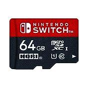 【Nintendo Switch対応】マイクロSDカード64GB for Nintendo Swit...