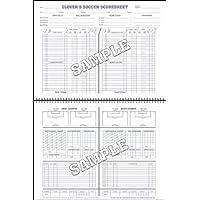 Glovers Scorebooks Soccer ShortフォームScorebook ( 30 Games )