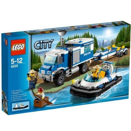 レゴ (LEGO) シティ ポリス指令トラックとポリスボート 4205