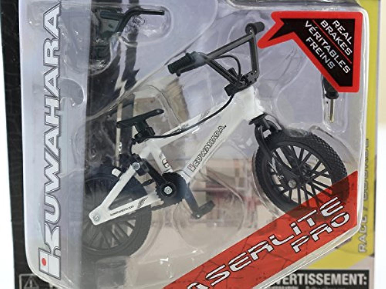 ミニチュア 自転車 フィンガーバイク BMX スペアハンドルバー 工具付き 12cm (ホワイト)