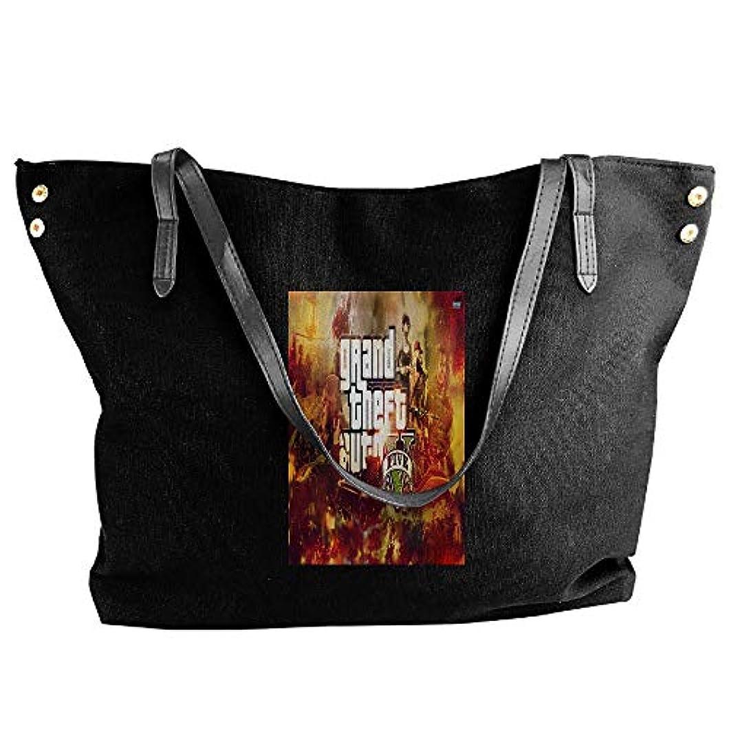 ウイルス圧倒的ジレンマ2019最新レディースバッグ ファッション若い女の子ストリートショッピングキャンバスのショルダーバッグ Grand Theft Auto 人気のバッグ 大容量 リュック