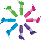 SINONIA Kids Bite Valves Fit All CamelBak Eddy Kids Water Bottle 8Pack (Mixed Colors)
