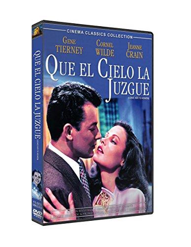 Que El Cielo La Juzgue (Ed.Esp.) (Dvd Import) (European Format - Region 2) (2009) Gene Tierney; Mary Philip