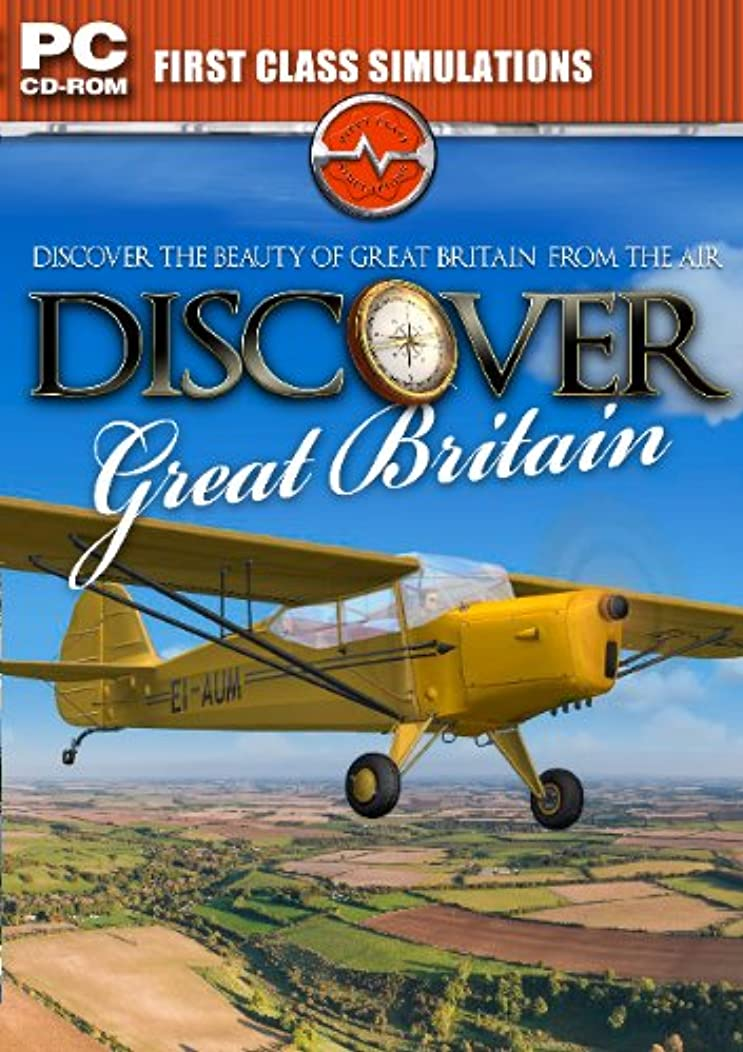 Discover Great Britain Add-on for Microsoft Flight Simulator FS 2004 and FSX (輸入版)