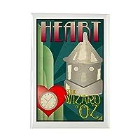 "CafePress–Wizard of Oz Tin Man Decoポスターデザイン長方形–長方形マグネット、2"" x3""冷蔵庫マグネット"