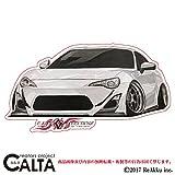 CALTA-ステッカー-86改-FRONT-白 (3.Lサイズ)