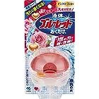 液体ブルーレットおくだけ トイレタンク芳香洗浄剤 本体 ピンクローズの香り 70ml