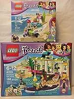 LEGO Friends Heartlake Surf Shop & Lego Friends Mia 'sビーチスクーター