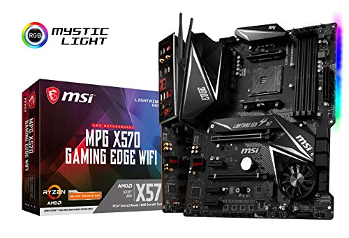 MSI MPG X570 GAMING EDGE WI-FI ATX マザーボード AMD MB4781 B07TLLC25S 1枚目