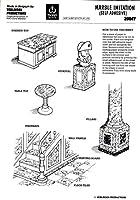 ver20047Verlinden / Trophyモデル–Imitation大理石(粘着) [モデルキットアクセサリー]