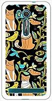 sslink ZenFone Go (ZB551KL) ゼンフォン ハードケース ca1324-3 CAT ネコ 猫 スマホ ケース スマートフォン カバー カスタム ジャケット ASUS エイスース アスース