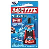 Loctiteスーパー接着剤ウルトラコントロール液体、透明