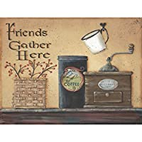 FriendsギャザーHere by Pam Britton–12x 16 12  x 16  Inch