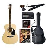 Sepia Crue アコースティックギター 初心者入門バリューセット フォークタイプ FG-10/N ナチュラル