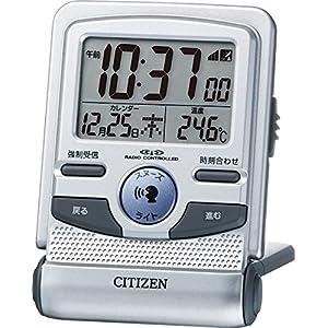 CITIZEN ( シチズン ) 電波 目覚まし 時計 パルデジットガイド トラベルクロック 8RZ109-019