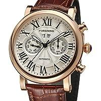 Forsining Men's Automatic Calendar Wrist Watch FSG9407M3R1