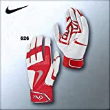 NIKE 一般両手用バッティング手袋 MVP エリートプロ2 品番:GB0377 (626:ユニバーシティレッド, M)