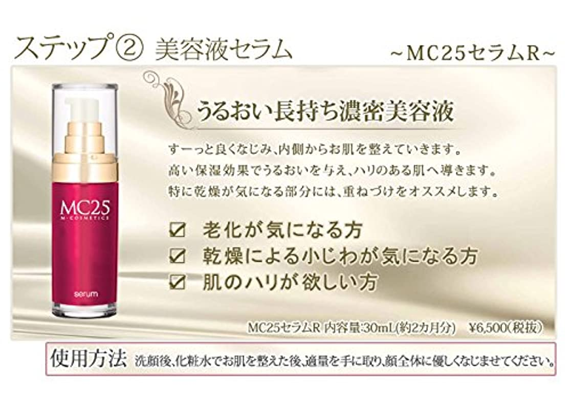 メドレーペースト論争の的MC25 セラムR (美容液)  30mL