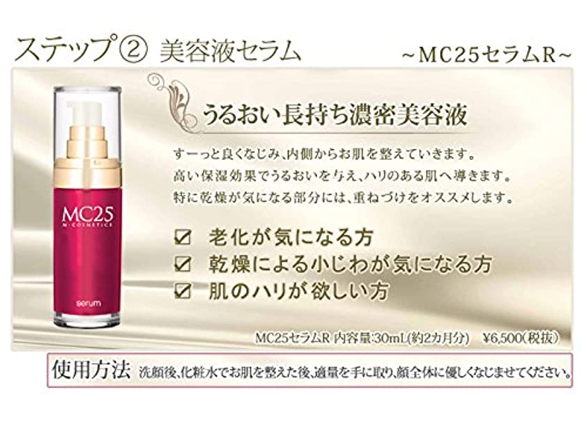 スキッパー人柄初期MC25 セラムR (美容液)  30mL