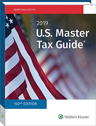 Download U.S. Master Tax Guide 2019 0808047787