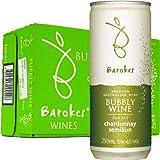 バロークス(Barokes) スパークリング缶ワイン 白 250ml×24本 ケース重量:約6.4kg