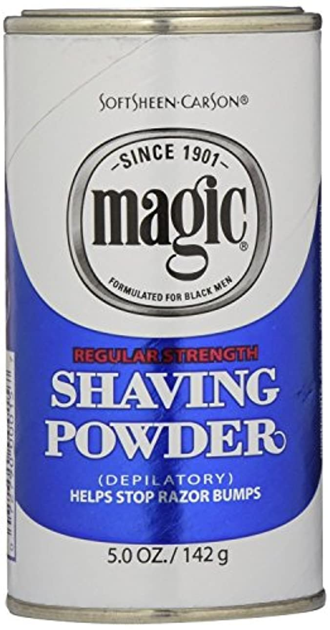 擬人化太陽汗Magic Blue Shaving Powder 133 ml Regular Depilatory (Case of 6) (並行輸入品)