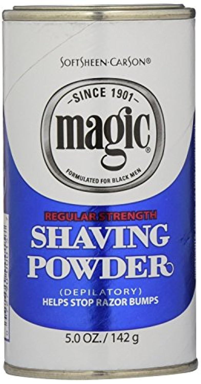 学部十メタンMagic Blue Shaving Powder 133 ml Regular Depilatory (Case of 6) (並行輸入品)
