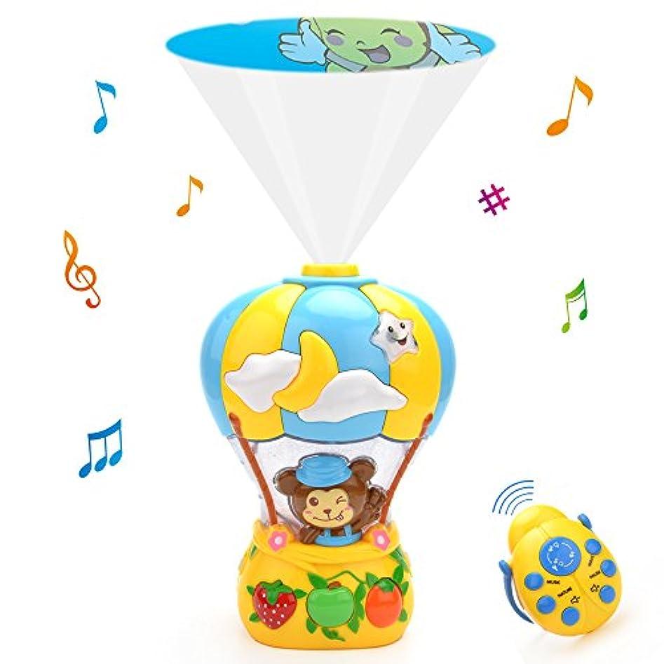 疫病十分です君主制Wishtime おやすみプロジェクター 赤ちゃん 子守唄 音楽ランプ ホームシアター 可愛い動物映像 お休み お子様の安眠を助ける 贈り物