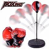パンチングボール Hosam サンドバッグ と パンチンググローブ セット エアー スタンディング バッグ 格闘技 練習用ボール ボクシンググッズ パンチ 訓練 ストレス発散