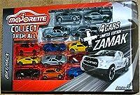 マジョレット 13台ZAMAK ジャガーFタイプ ダッジ チャレンジャーSRT フォード F-150 シボレーカマロJaguar F-Type Camaro Dodge Challenger