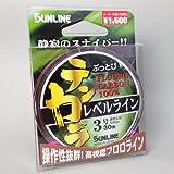 サンライン(SUNLINE) ぶっとびテンカラレベルライン 30m (3.0号)