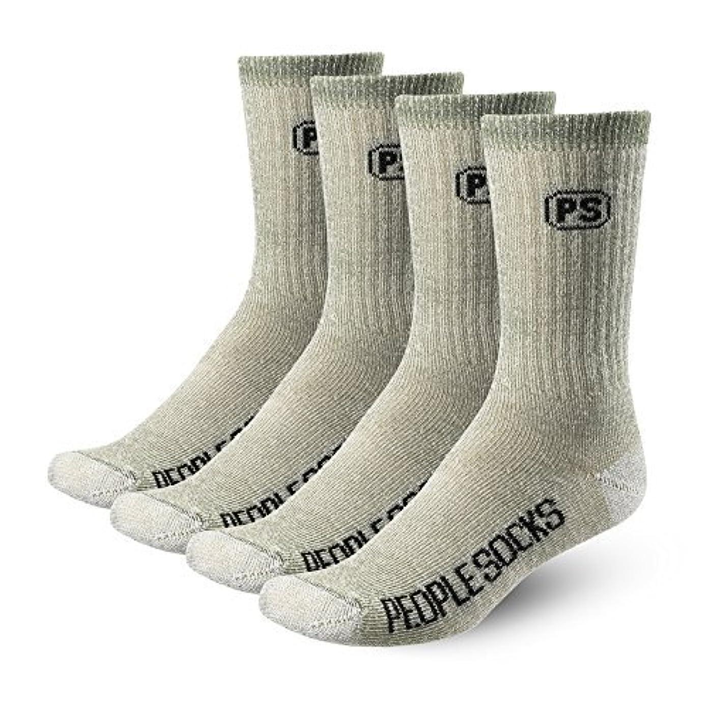 支出能力混乱させる127-crew-green-4pk Unisex Small Medium Socks [並行輸入品]