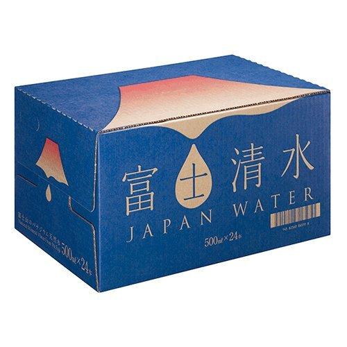 バナジウム天然水 富士清水 500ml×24本入×2ケースセット