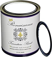 (32oz (Quart), 01 Snow) - Renaissance Chalk Finish Paint Qt - Superior Coverage, Non Toxic, Eco-Friendly - Snow