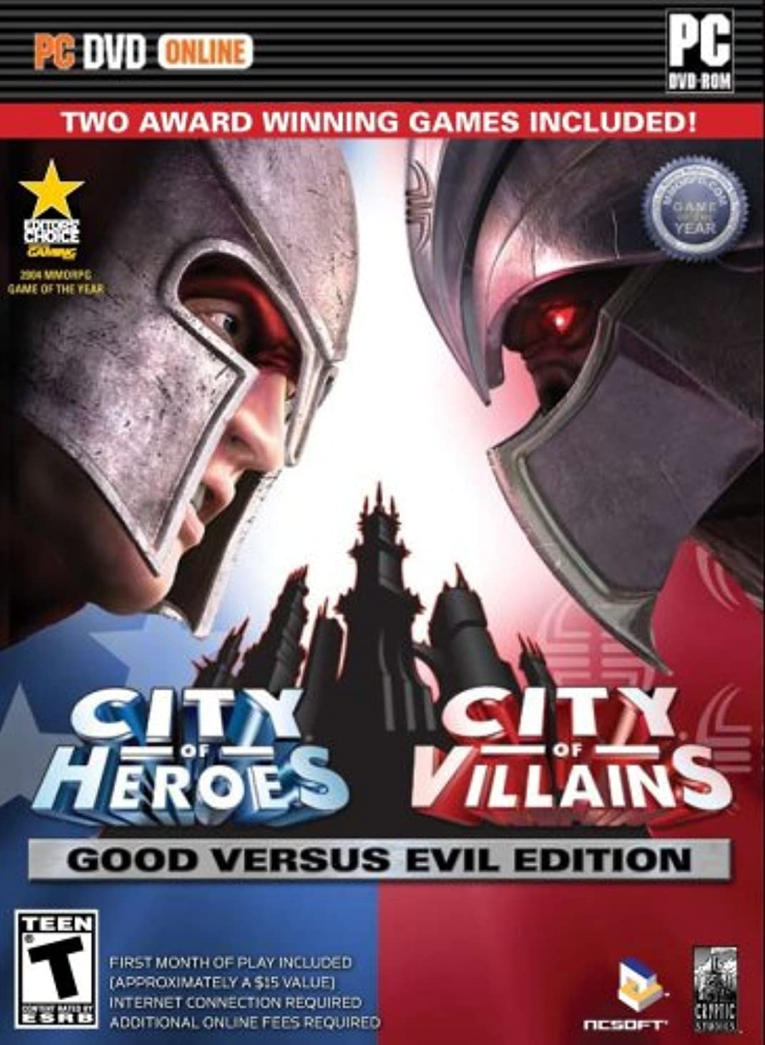採用する生理旅行代理店City of Heroes and City of Vilians: Good vs. Evil Edition (輸入版)