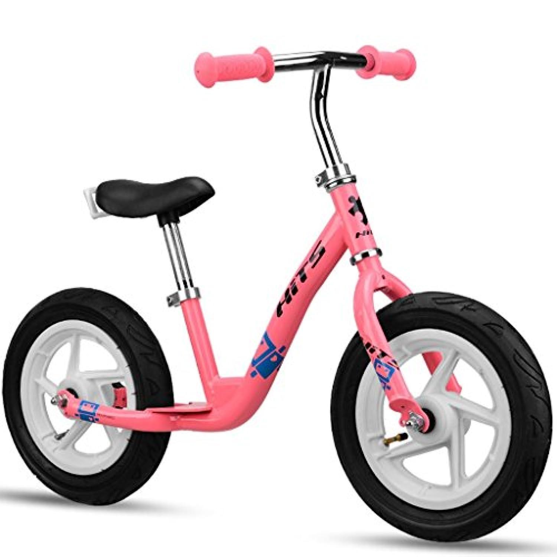 バランスバイク軽量スポーツペダルウォーキング自転車、調節可能なハンドルバーと2?6歳のシートあり ( Color : 4 )