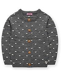mimixiong(ミミクマ)ガールズ 長袖 ニット 薄い 丸首 アクリル コート
