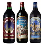 グリューワイン ホットワイン 飲み比べ 3本セット ドイツ 甘口 1000mlx3本