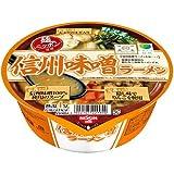 【ケース販売】日清 麺ニッポン 信州味噌ラーメン 119g×12個