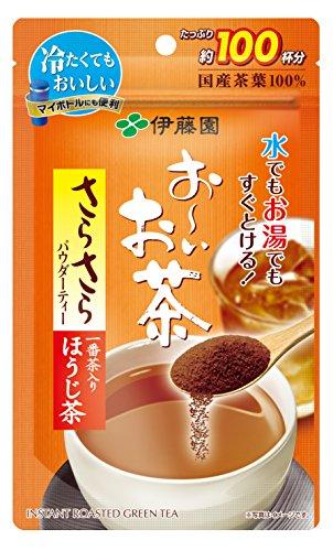 伊藤園 おーいお茶 さらさらほうじ茶 80g (チャック付き袋タイプ)