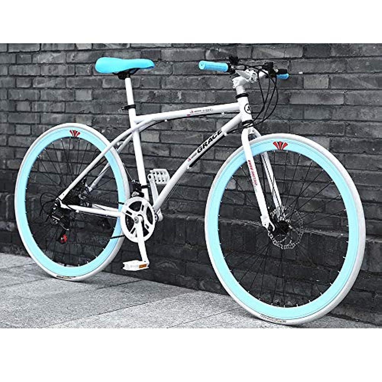 資料ブラウザ天井26インチの炭素鋼のマウンテンバイク24スピード自転車プレミアムのフルサスペンションMTBのために男性と女性ロードバイクとMTB□□歯車デュアルディスクブレーキマウンテン自転車 (Color : A)