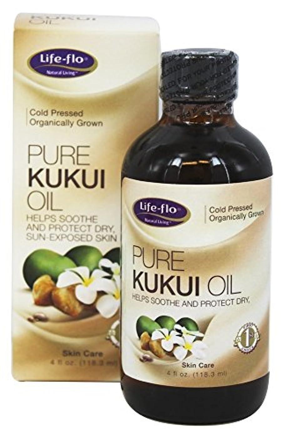あからさま覚えている化石Life-Flo - Pure Kukuiオイル - 4ポンド [並行輸入品]
