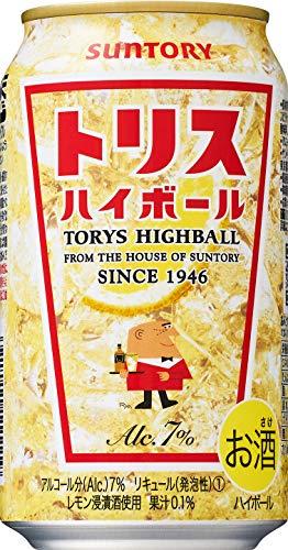 サントリー トリスハイボール 缶 [ ウイスキー 日本 350ml×24缶 ]