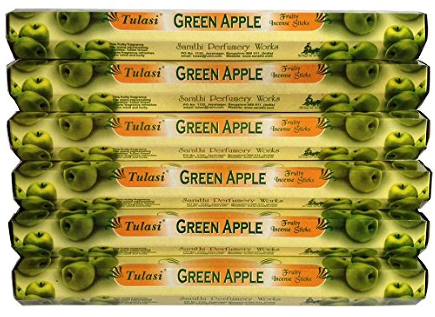 食料品店時計ネーピアトゥラシ グリーンアップル 6個セット