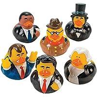 US President Rubber Ducks - 12 pcs [並行輸入品]