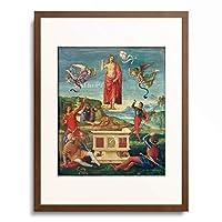 ラファエロ・サンティ Raffaello Santi (Raffaello Sanzio) 「The Resurrection of Christ」 額装アート作品