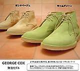 [ジョージ・コックス] George Cox デザートブーツ (8.0)26.0cm サンドベージュ