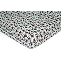 Carter's Easy Fit Printed Crib Fitted Sheet Monkey [並行輸入品]