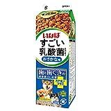 いなば すごい乳酸菌クランキー牛乳パック おさかな味 380g